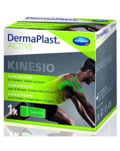 DermaPlast Active Kinesiotape - 5cm x 5m - grün