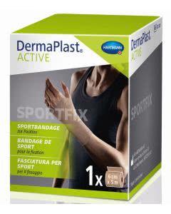 DermaPlast Active Sportfix Bandage - beige - 6cm x 5m