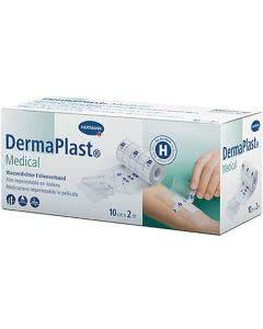 DermaPlast Medical Fixierfolie - 10cm x 2m