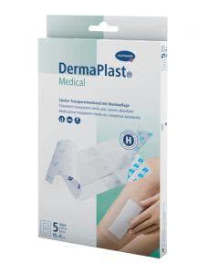 DermaPlast Medical Transparentverband 15x9cm - 5Stk.