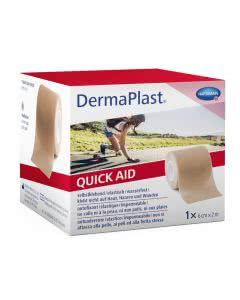 Dermaplast QuickAid Wundverband Pflaster - Hautfarbig - 6cm x 2m