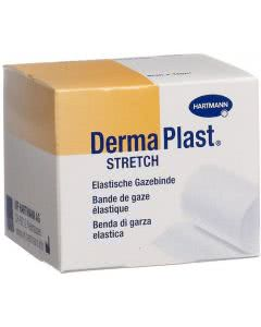 DermaPlast Stretch Gazebinde weiss - 2.5cm x 4m - 20 Stk.