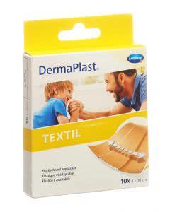 DermaPlast Textil Schnellverband 8x10cm - 10 Stk.