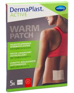 DermaPlast Active Warm Patch 10x12cm - 5 Stk.