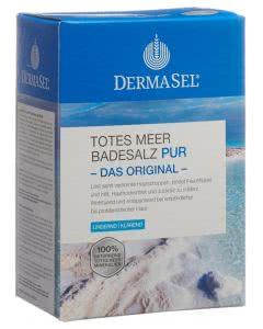 DermaSel Totes Meer Badesalz PUR - 1.5kg