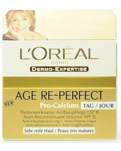 L'Oréal - Dermo-Expertise - Age Re-Perfekt Pro Calcium Tagespflege - LSF 15- 50ml