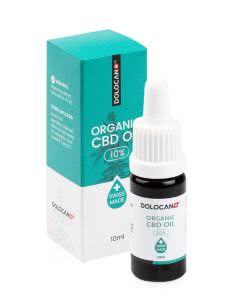 Dolocan Organic CBD Oel 10% - Pipettenflasche - 10ml