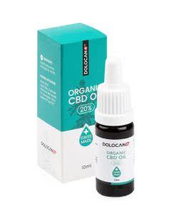 Dolocan Organic CBD Oel 20% - Pipettenflasche - 10ml