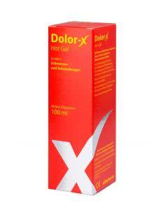 Dolor-X HOT Gel mit Pfeffer-Extrakt - Airless Dispenser - 100ml