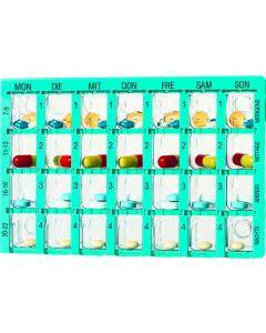 Dosett Medi Medikamentendispenser für eine Woche
