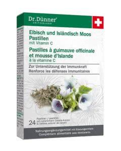Dr. Dünner Eibisch und Isländisch Moos Pastillen - 24 Stk.