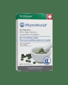 Dr. Dünner PhytoWorld Bio-Spirulina Tabletten - 80 Stk.