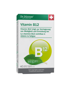 Dr. Dünner Vitamin B12 vegan - 40 Kaps.