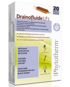Drainofluid LF Nr. 2 - 20 x 10ml Ampullen