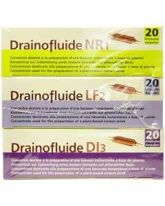 Phytoderm - Drainofluide - Ampullenkur zum Entschlacken und Fitsein 3 x 20 Ampullen