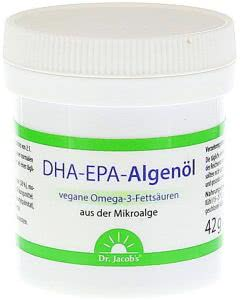 Dr. Jacob's DHA-EPA-Algenöl - 60 Kaps.