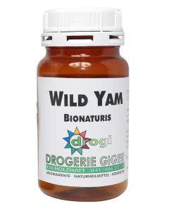 Bionaturis Wild Yam 240mg - Diosgenin - 200 Kaps.