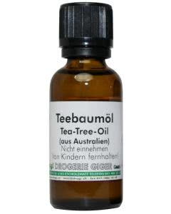 drogi Ätherisches Öl - Teebaum-Öl - Inhalieren/Duftlampen - 30ml