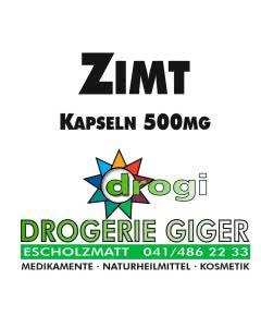 drogi Zimt Kapseln 500 mg - 120 Stk.
