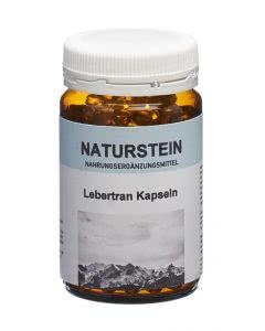 Drogovita Naturstein Lebertran Kapseln - 100 Stk.