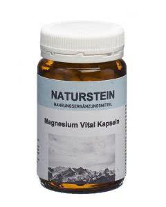 Drogovita Naturstein Magnesium Vital Kapseln - 100 Stk.