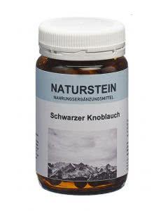 Drogovita Naturstein Schwarzer Knoblauch - 100 Kaps.