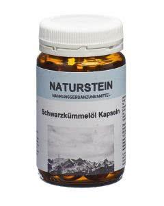Drogovita Naturstein Ägyptisches Schwarzkümmelöl - 100 Kaps.