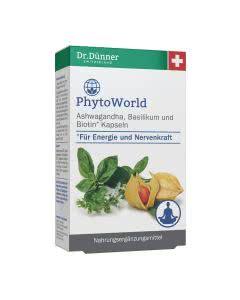 Dr. Dünner PhytoWorld Ashwagandha und Biotin Kapseln - 40 Stk