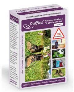 Duffies Anti-Geruchs-Kissen für Schuhe und mehr - 2 Stk.