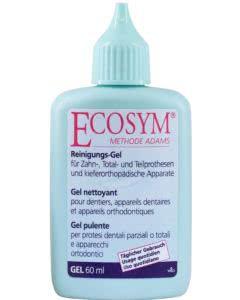Ecosym Reinigungsgel für 3. Zähne Total- und Teilprothesen - 60ml