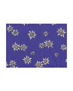 Traubenkern-Kissen Säckli - Edelweiss blau