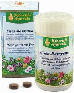 Eisen-Rasayana Ayurvedisch - 60 Tabl.