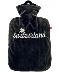 Emosan Wärmflasche Switzerland mit Edelweiss - 1 Stk.