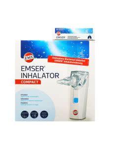 Emser Compact Inhalator inkl. Inhalations-Lösung - 1 Set