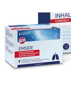 Emser Inhalator - Inhalationslösungen - 100 x 5ml