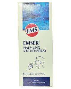 Emser Hals- und Rachenspray mit natürlichem Emser-Salz - 20ml