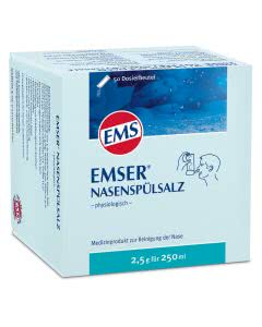 EMS Emser Nasenspül-Salz - 50 Btl. mit je 2.5g