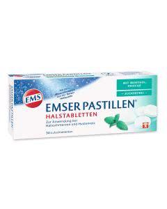 Emser Pastillen mit Mentholfrische zuckerfrei - 30 Stk.