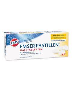Emser Pastillen mit Vanillearoma zuckerfrei - 30 Stk.