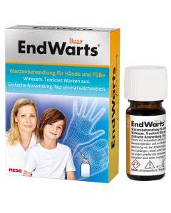 EndWarts - Warzenbehandlung - wirksam und schonend - 5ml