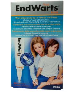 EndWarts - Warzenbehandlung für Hände und Füsse - Stift - 30 Anwendungen