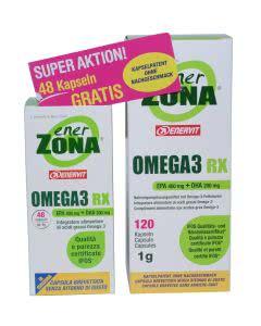Enerzona Omega 3 RX - Aktion 48 Kaps gratis.