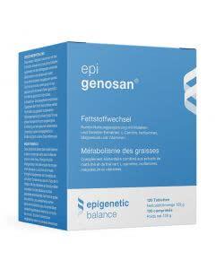 epigenosan - Fettstoffwechsel - 120 Tabl.