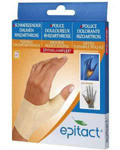 Epitact Flexible Daumenbandage M 15-16.9 cm links - 1 Stk.