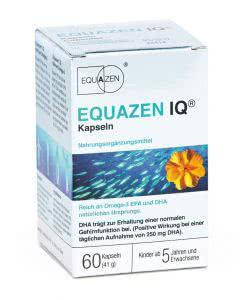 Equazen IQ - Fischoel - Omega 3 - Kapseln - 60 Stk.