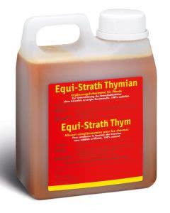Equi-Strath Pferde - flüssig mit Thymian - 1L