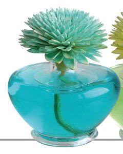 "Essence of Nature - Sesbania Orchidee Raumduft mit handgemachter Duftblume blau ""Orchidee"" 100ml"