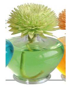 "Essence of Nature - Sesbania Orchidee Raumduft mit handgemachter Duftblume grün ""Floralia"" 100ml"