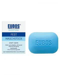 Eubos fest Waschstück blau - 125 g