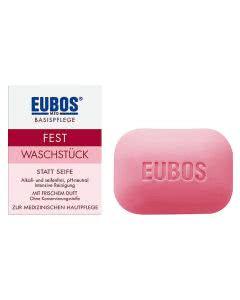 Eubos fest Waschstück rot - 125 g